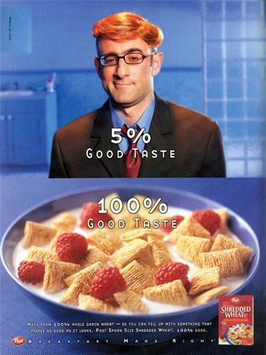 5% Good Taste (Original Ad) - 2001